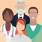 Maior satisfação dos médicos, equipes hospitalares e pacientes