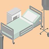 Aumento da rotatividade de leitos de internação e cirúrgicos do hospital